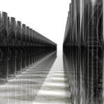 Два реда абстрактни ДНК сървъри